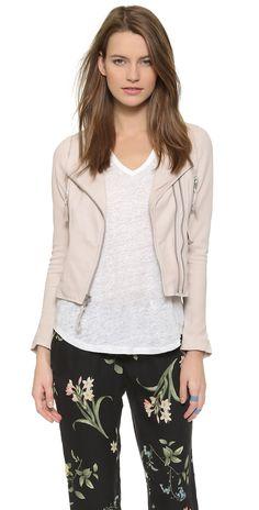 Joie Vivianette Leather Jacket | SHOPBOP