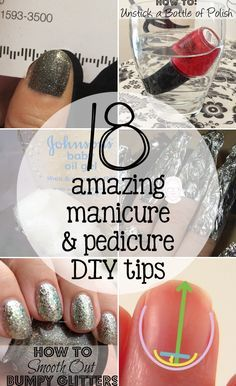 Repinned: 18 Tips to Make Your At-Home Manicure and Pedicure Look Professional #KohlsBeauty