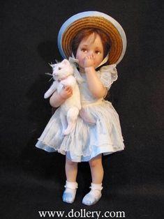 Jane Bradbury Collectible Dolls Cassie
