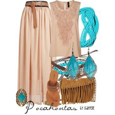 """Pocahontas"" by disneybychantelle on Polyvore"