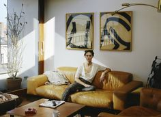 Anouck Lepere's Antwerp Apartment Photographed by Estelle Hanania for Nowness