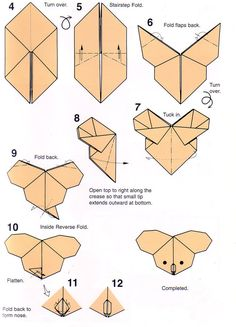 Get This How To Do Origami Step By