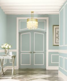 I have found the color I am going to paint my bedroom! Behr Zen UL220-14