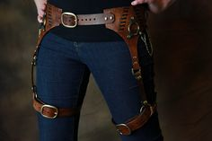 Lady's Steampunk Leather Harness by AverusEmporium on Etsy. , via Etsy.