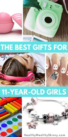 Best Gifts For 11 Year Old GirlsCheck out this gift buying guide for girlsFind the perfect electronic beauty craft or room decor Best Gift… – Preteen Cool Gifts For Teens, Best Gifts For Girls, Teenage Girl Gifts, Tween Gifts, Teen Girl Birthday, Birthday Gifts For Girls, Friend Birthday, Birthday Presents, Birthday Stuff