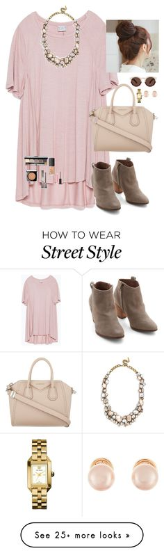"""Fashion is what you buy. Style is what you do with it."" by oh-so-rachel on Polyvore featuring Zara, Chelsea Crew, BaubleBar, Givenchy, Tory Burch, Pin Show, Illesteva, Kenneth Jay Lane, Bobbi Brown Cosmetics and NARS Cosmetics"