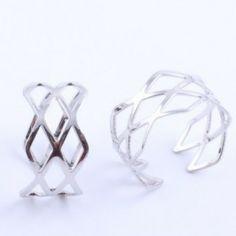Vintage Meter Simple Style Rings Jewelry for Women