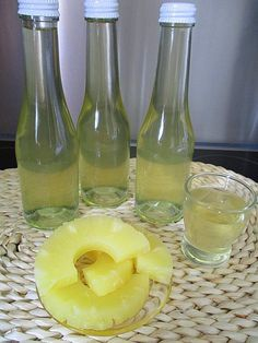 Pineapple liqueur by maagi Triple Sec, Pineapple Alcohol Drinks, Mojito, Campfire Snacks, Gin, Best Energy Drink, Best Mixed Drinks, Homemade Liquor, Malibu
