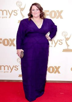 <b>WORST:</b> Melissa McCarthy<br> 'Mike & Molly' star Melissa McCarthy is a beautiful woman, but this boxy purple number did nothing to show off her curves. And are those shoulder pads?! This dress just don't not do the 'Bridesmaids' actress justice. <br><Br> But despite her fashion faux pas, Melissa had one heck of a night. After literally being crowned upon winning the award for Lead Actress in a Comedy, McCarthy teared up during h...