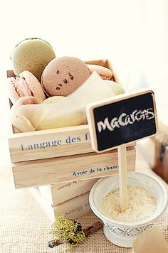 assorted macarons by L' Atelier Vi, via Flickr