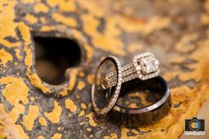 Photograph of our rings... 10.8.14 David Brand Photography  http://dbrandphoto.com/