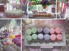 pastel macaroon loveliness! wedding dessert bar | CHECK OUT MORE IDEAS AT WEDDINGPINS.NET | #weddings #weddingcakes #cakes #events #forweddings #ilovecake #romance #baking