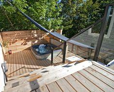 RIS Projects - Hot Tub Deck | Hot Tub | Exterior Decking | dream ...