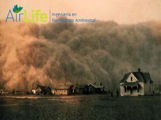 Airlife te explica que también son contaminantes del aire, partículas de polvo ultra finas creadas por la erosión del suelo cuando el agua y el clima sueltan capas del suelo, aumentan los niveles de partículas en suspensión en la atmósfera. http://airlifeservice.com/