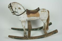 Primitive Victorian Hand-Crafted Wooden Rocking Horse | Gallery441 x 29419.3KBchairatio.net