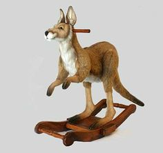 Dimensions: 33.15in X 15.60in X 33.54in (LxWxH) If this item is not in stock, additional time may be required for transport. As all our animals are handmade, sizes and weights are approximate measurem