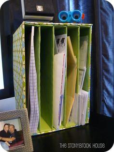 The Stonybrook House: Mail Organizer!! DIY On The Cheap!!