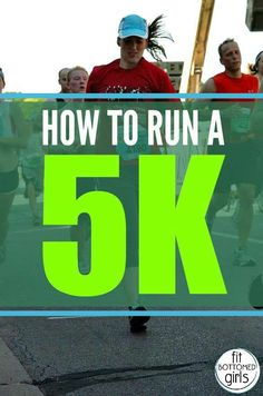 Tips to get ready for a 5k (or really any race) in a very short period of time. | Fit Bottomed Girls