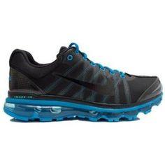 http://www.asneakers4u.com/ 354744 020 Nike Air Max 2009 Black Blue D09001