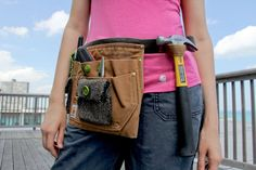 #Carhartt tool belt / check out this #DIY for all you crafters out there!