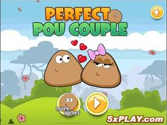 Perfect Pou Couple - Pou's Way To Love - Funny Pou Games
