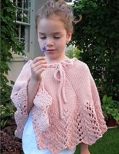 Pixie by Kerry Milani Worn as a cozy poncho or floaty skirt, Pixie will win the hearts of princesses young and old!