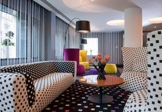 Prosecco on arrival at a maximalist design hotel just off Edinburgh's prestigious Royal Mile, including optional afternoon tea