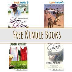 Free Kindle Book List: Love By The Letter, Born to Run Live to Be Free, and More