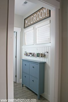 Shoe Cabinet: Rocky Coast by Clark and Kensington Over the Big Moon    Related Stories Front Door Paint Color Flint Swimming
