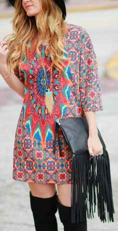 Discover more boho chic dress at OASAP! Comfortable Clothes 575581f57