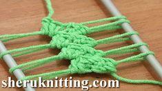 Patroon sjaal haken met een speciale techniek, de guimpe techniek. Wat is er lekkerder dan een warme wollen sjaal tijdens koude dagen of een