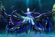 theatre set design water little mermaid - Google Search