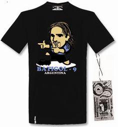 Tshirt Batigol - Negro
