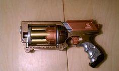 DIY Steampunk Nerf Gun