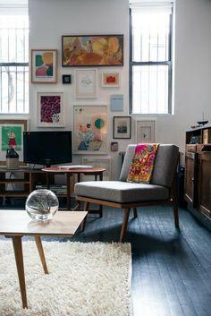 Un loft en Brooklyn sin un plan decorativo premeditado | Etxekodeco