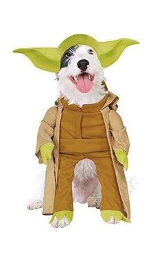 Delightful Star Wars Yoda Dog Halloween Costume