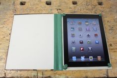 How to make an iPad cover from an old book and sugru