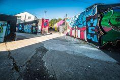 WIDE ANGLE STREET ART   SONY ALPHA A7R MARK 2