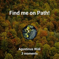 FOLLOW ME ON PATH