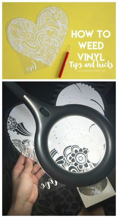 #DIY HOw to weed vinyl–tips and tricks