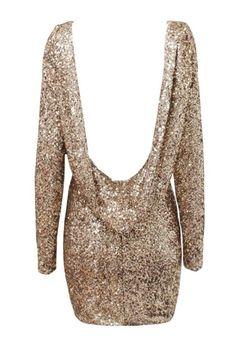 Chanelle Dress - Gold