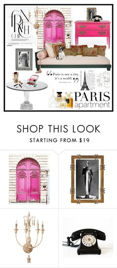"""Paris Apartment"" by lizart ❤ liked on Polyvore featuring interior, interiors, interior design, home, home decor, interior decorating, Aubusson, WALL, Bellagio and parisapartment"