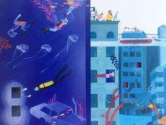 Rich Palettes of Colour in Pencil Illustrations by Iratxe López de Munáin | Ape on the Moon: Contemporary Illustration | Bloglovin'