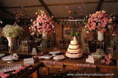 Dreams Cerimonial e Eventos: Inspiração... Casamento Rosa e Marrom
