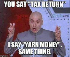 Yarn humor