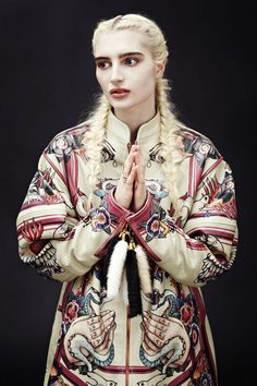 Ekaterina Gerasimova AW 2012/ Photography: www.hill creative director: Rob Phillips: Styling: Pace Chen