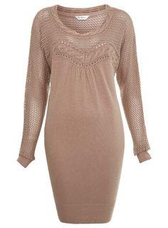 mink sweater dress