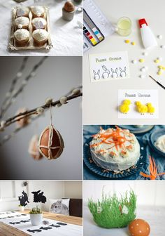 we love Inspiration: Unsere Oster-DIYs - we love handmade Our Love, Happy Easter, Diys, Table Decorations, Zero, Handmade, Inspiration, Home Decor, Sustainable Ideas