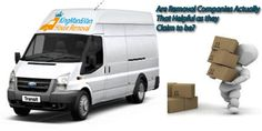 Man and van London teams can help you with excellent relocation solutions. You can get in touch with their removal experts to find out more about their removal services.