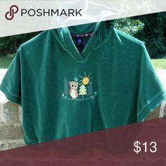 Baby Gap Green Poncho Baby Gap Green Poncho Baby Gap Shirts & Tops